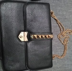 Black and gold bag